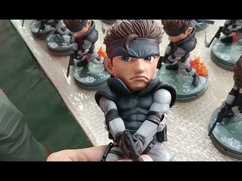 Metal Gear Solid: Solid Snake SD PVC Statue Production diary