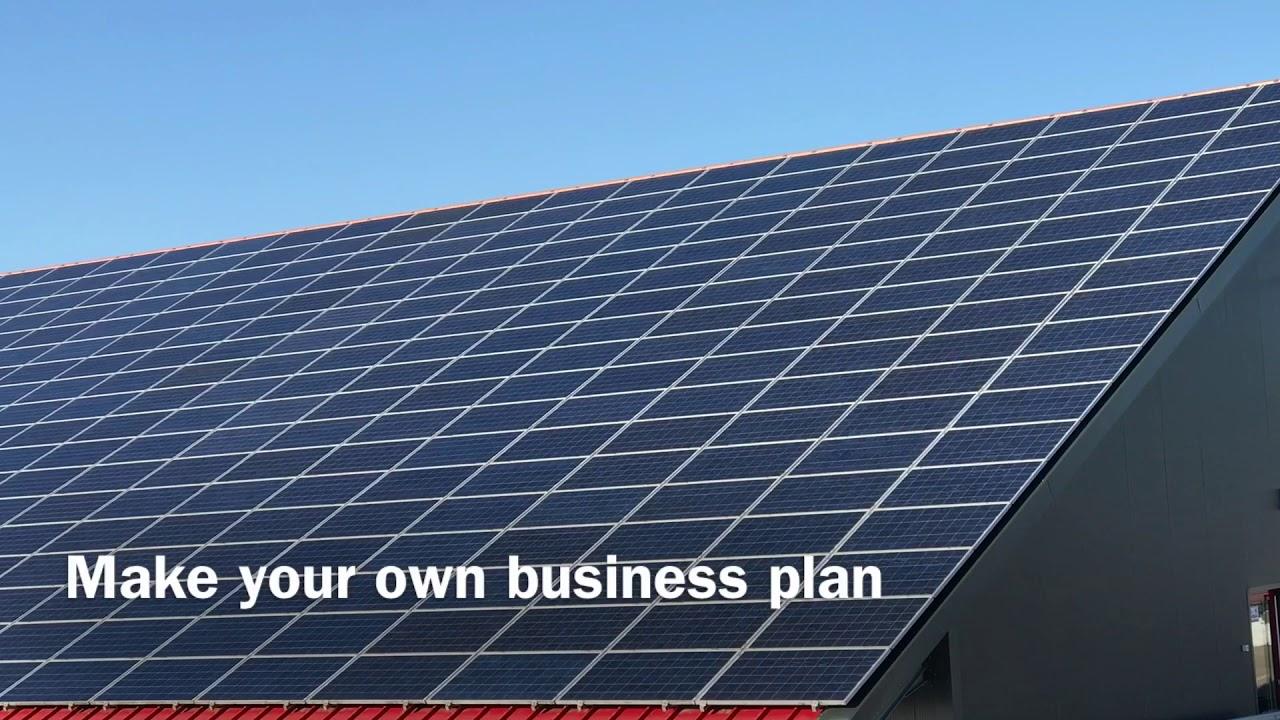 solar pv farm business plan