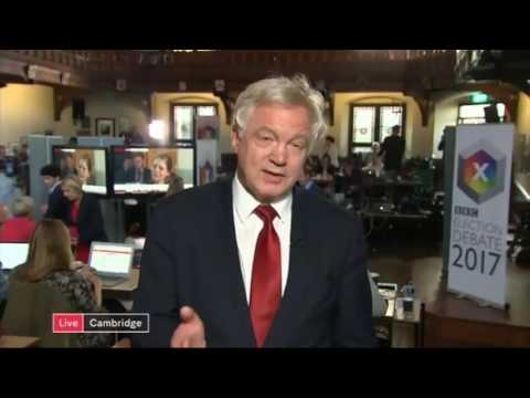 GE2017: David Davis in car crash interview over Tory campaign lies