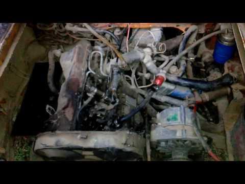 Как запустить дизельный двигатель после длительного простоя