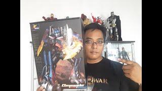 Optimus prime weijiang commander review