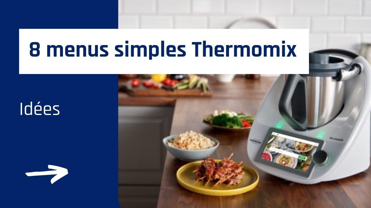 Idee Menu Thermomix.8 Idees Menus Simples Au Thermomix