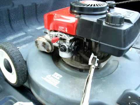 Honda Engine Gcv160 Carburetor Diagram Civic Stereo Wiring 2003 How To Clean Out The Carb On A Small - Youtube