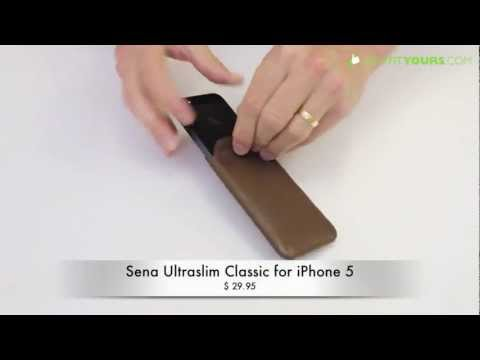 Sena Ultraslim Classic Leather iPhone 5 Pouch - Review