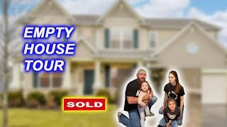 OMG WE BOUGHT A HOUSE!!!! EMPTY HOUSE TOUR