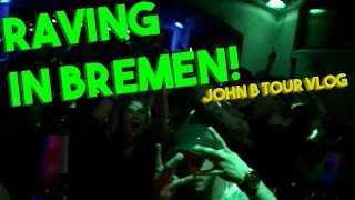 Raving In Bremen! Drum And Bass Dj John... @ www.OfficialVideos.Net