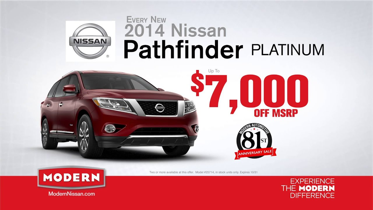 Modern Nissan Of Lake Norman 81st Anniversary Sale