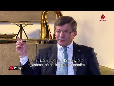 Prof. Ahmet Davutoğlu ile röportaj - Intervistë me prof. Ahmet Davutoglu