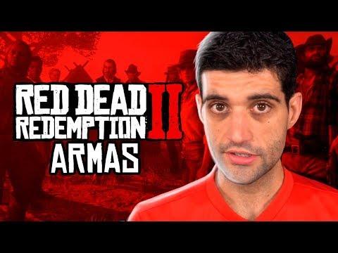 As ARMAS de Red Dead Redemption 2, muitas novidades e personalizações