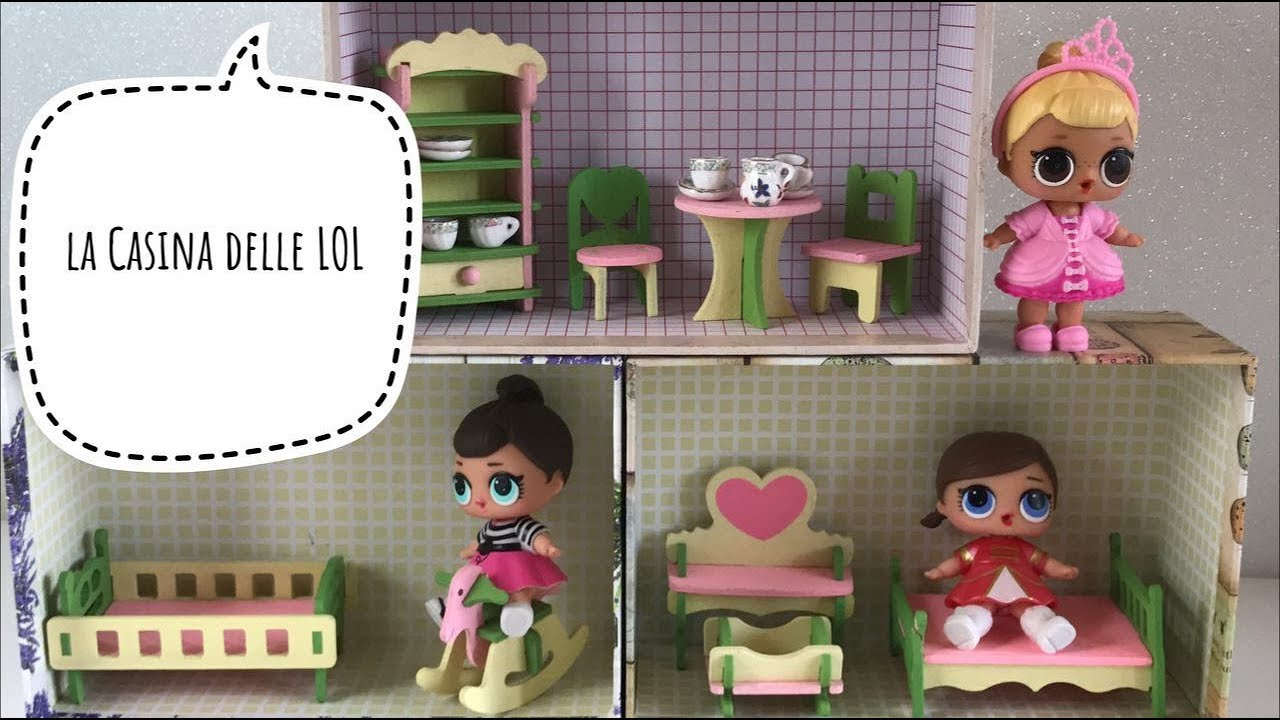 Diy come fare una casa per bambole per le lol surprise for Fare una casa online gratis 3d