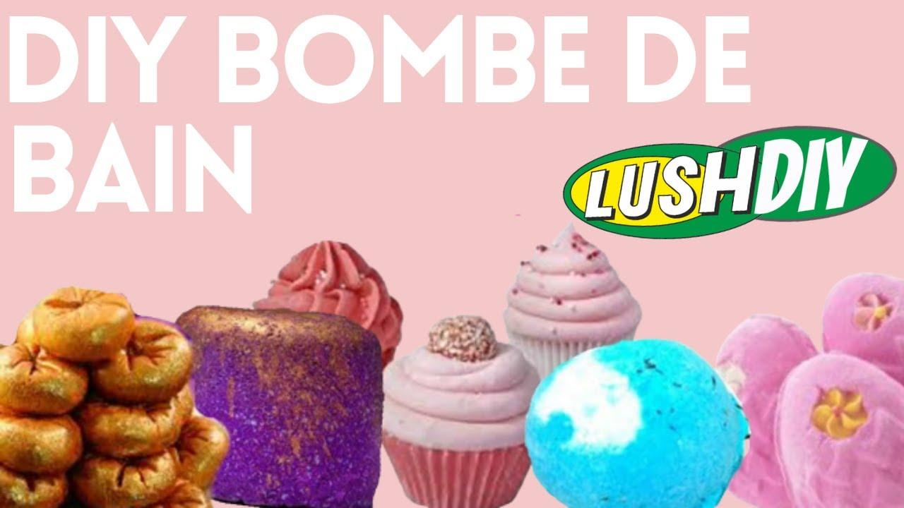 diy dupe lush bombes de bain bath bomb caly beauty youtube - Colorant Bain