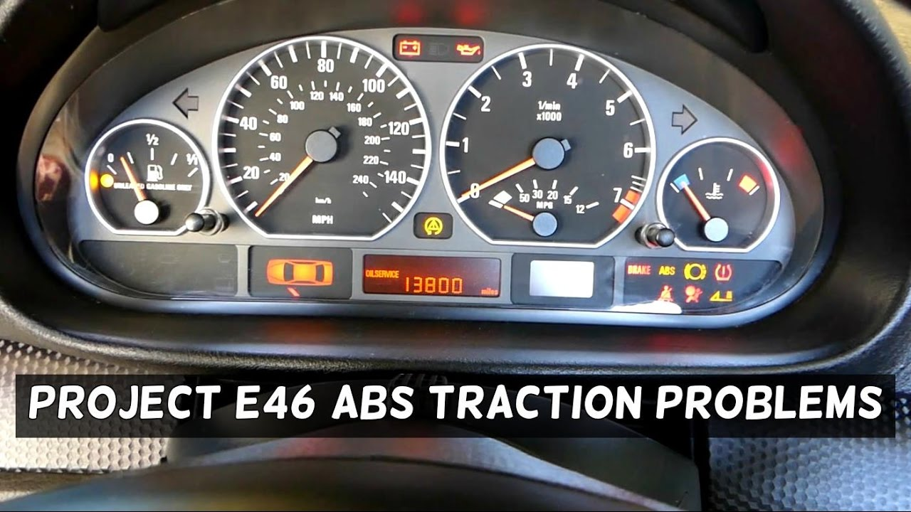 project bmw e46 330ci zhp diagnostics abs and traction. Black Bedroom Furniture Sets. Home Design Ideas