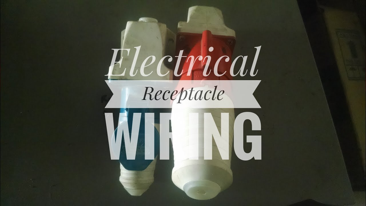 Electrical Receptacle Wiring in Hindi | Basic knowledge - YouTube