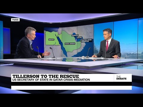 THE DEBATE - Tillerson to the Rescue: US Secretary of State in Qatar Crisis Mediation