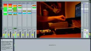 Electro/Dubstep in Ableton Live with Novation Launchpad & Oxygen 8 v2