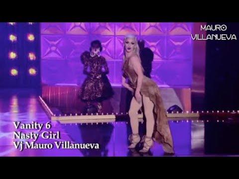 Vanity 6 - Nasty Girl (RuPaul Lip Sync Version)