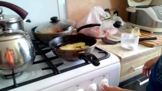 Делаем чипсы на сковороде