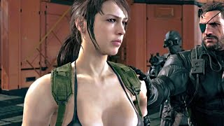 Repeat youtube video Metal Gear Solid 5 Phantom Pain 60 FPS Gameplay ENGLISH 50 Minutes
