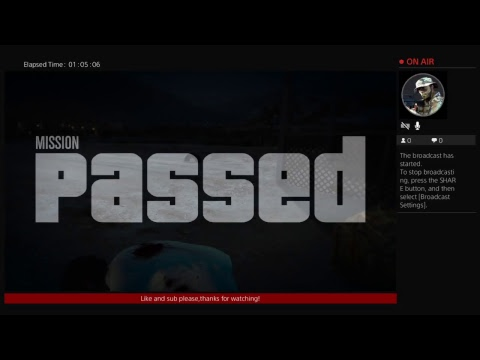 mrnoorf34's Live GTA V broadcast...Hard out here for a pimp!