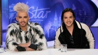 Deutschland Sucht Den Superstar Auditions with Bill and Tom Kaulitz 2012 spoof
