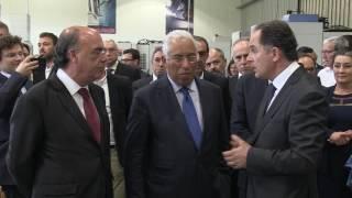 Primeiro-Ministro inaugurou as novas instalações da Kristaltek