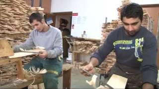 Michal Obrk Výroba dreveného šindľa