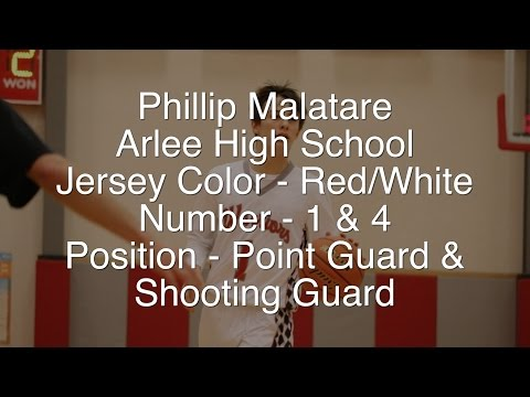 Phillip Malatare - 2016 Arlee Warrior Basketball Recruitment Video