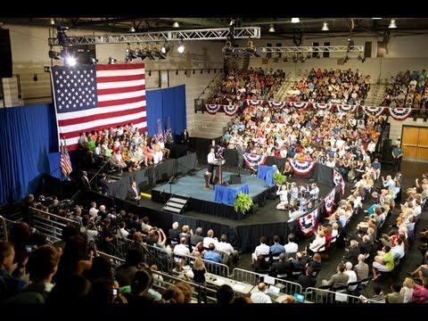 President Obama Speaks to Town Hall Meeting at University of