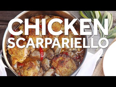 how-to-make-chicken-scarpariello-(italian-sweet-and-sour-chicken-with-sausage)