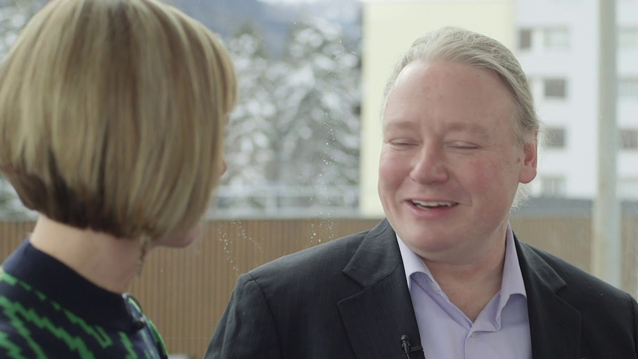 Hub Culture Davos 2019 - Brian Behlendorf, Executive Director of Hyperledger