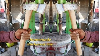 MAKING AN AXE / HOMEMADE AXE / كيفية جعل الفأس / कैसे एक कुल्हाड़ी बनाने के लिए