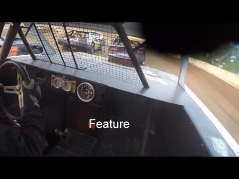 Brian Weyandt Hesston Speedway 5-28-16 In car cam