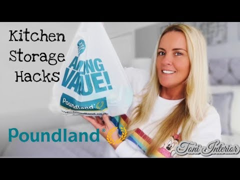 Kitchen Organisation Storage Hacks From Poundland Haul
