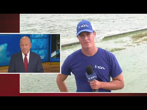 Hurricane Laura: Sabine Lake In Port Arthur Seeing Effects From Storm