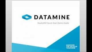 Datamine Studio RM - Quickstart Guide