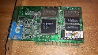 PCI-E порт не работает, запуск пк на  PCI раритетной карте