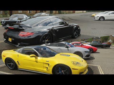 Forza Horizon 4:Spring Drag Meet w/ 840+HP C6 ZR1, 900HP Z3, 1250HP Nova & More thumbnail