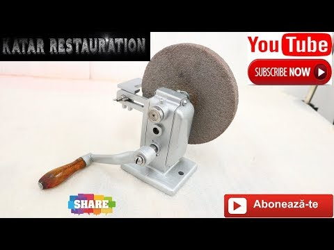 Restoration Antique  Manual grinder ,Restaurare polizor manual  Episodul 3