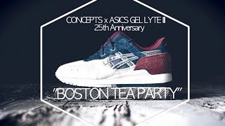 "CONCEPTS x ASICS 25th Anniversary Gel Lyte III ""Boston Tea Party"""