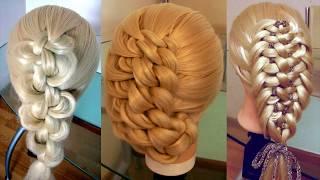 Элегантные косы. Узловое плетение. Сборник 5 . Видео-уроки