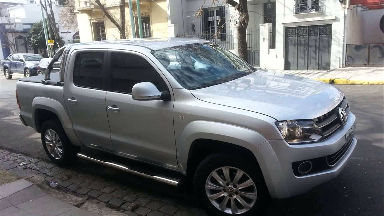 volkswagen amarok 2 0 tdi highline 4x4 youtube. Black Bedroom Furniture Sets. Home Design Ideas