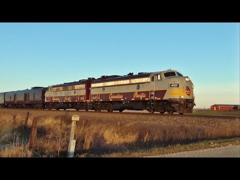 Canadian Pacific Business Train East of Ainsworth, IA 11/20/17