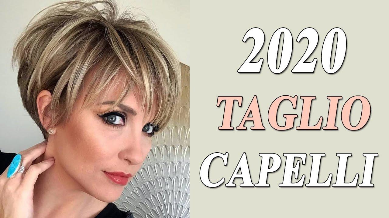 TAGLI CAPELLI 2020 TENDENZE: Corti, Medi e Lunghi - YouTube