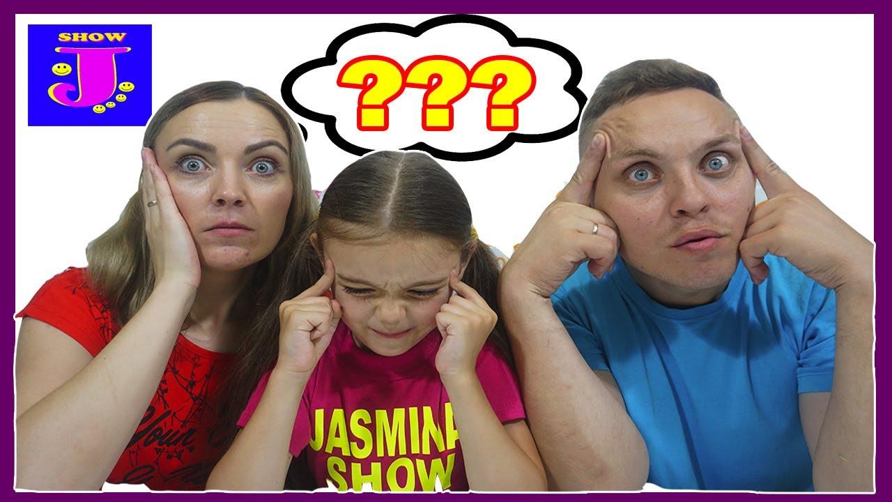 Cu ce mananc? Furculita,gura,pai??Taticul VS Mamica ?Provocare la Jasmina Show