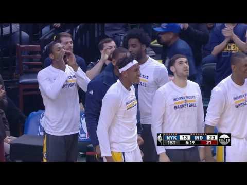 New York Knicks vs Indiana Pacers | January 23, 2017 | NBA 2016-17 Season