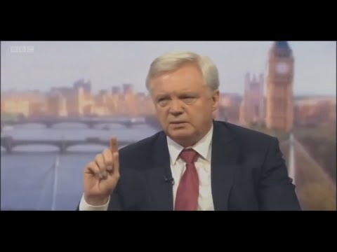 Brexit Secretary David Davis MP Interview June 25th 2017