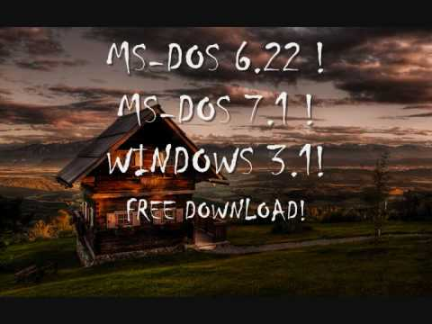 Windows 3 1, MS-DOS 6 22, 7 1 and Windows 95, 98, 2000, NT Download ISO,  Floppy, VHD Images