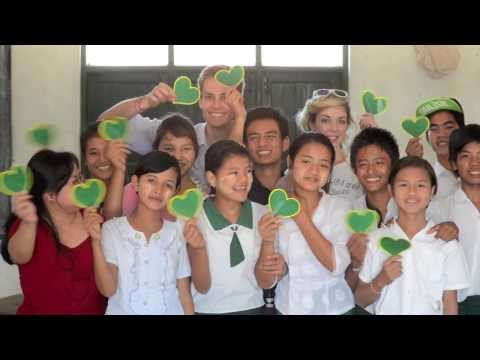 Chase Volunteers at the Monastic Training Center and Orphanage in Myanmar