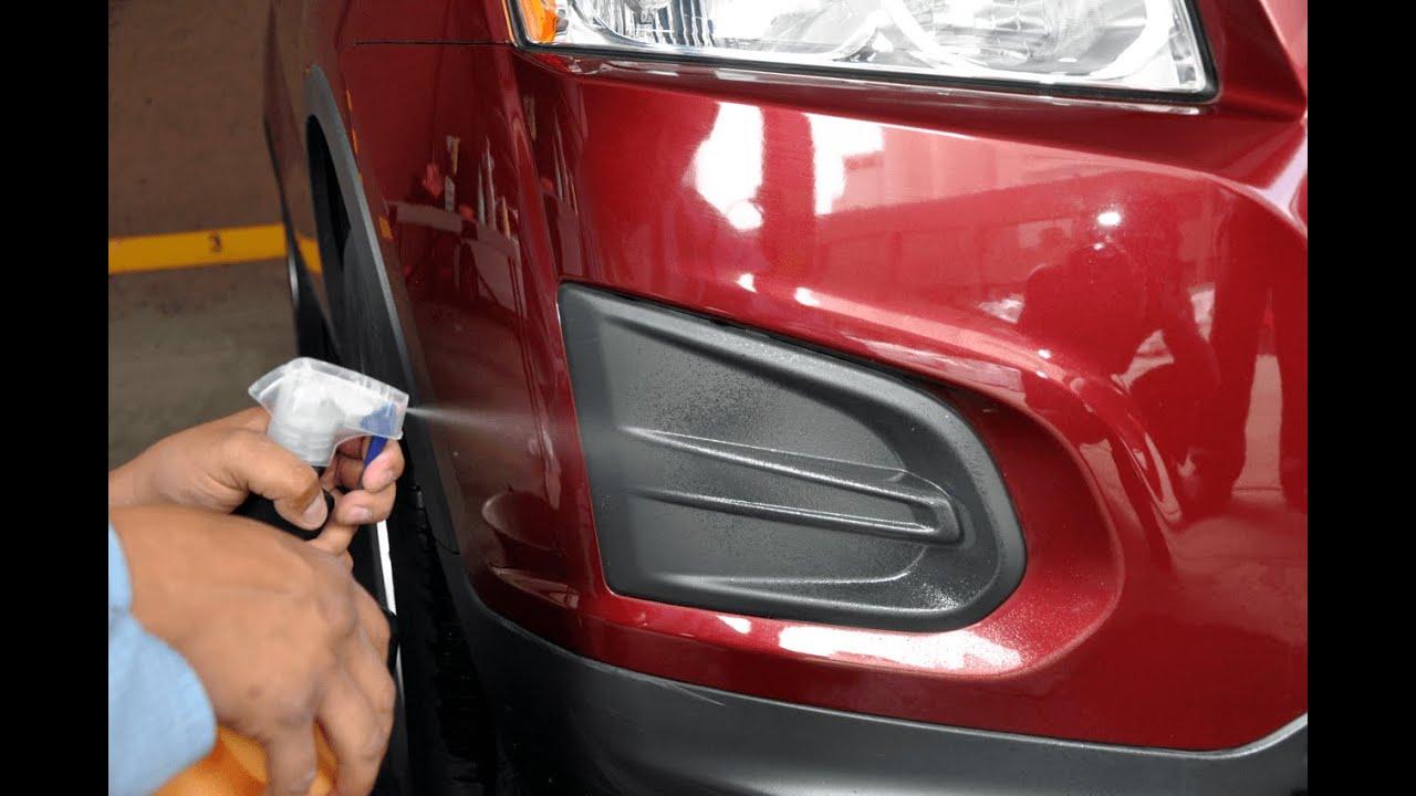 C mo proteger la pintura del auto con pol mero tenazit - Pintura en spray para coches ...