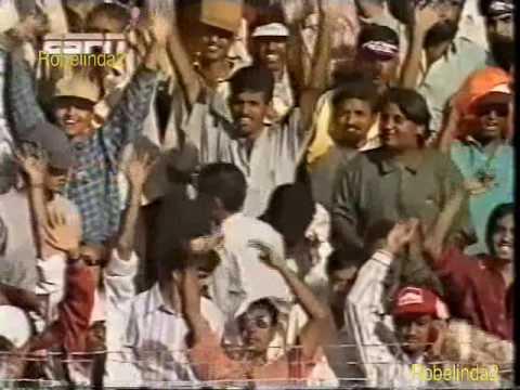 Sachin Tendulkar match winning innings...